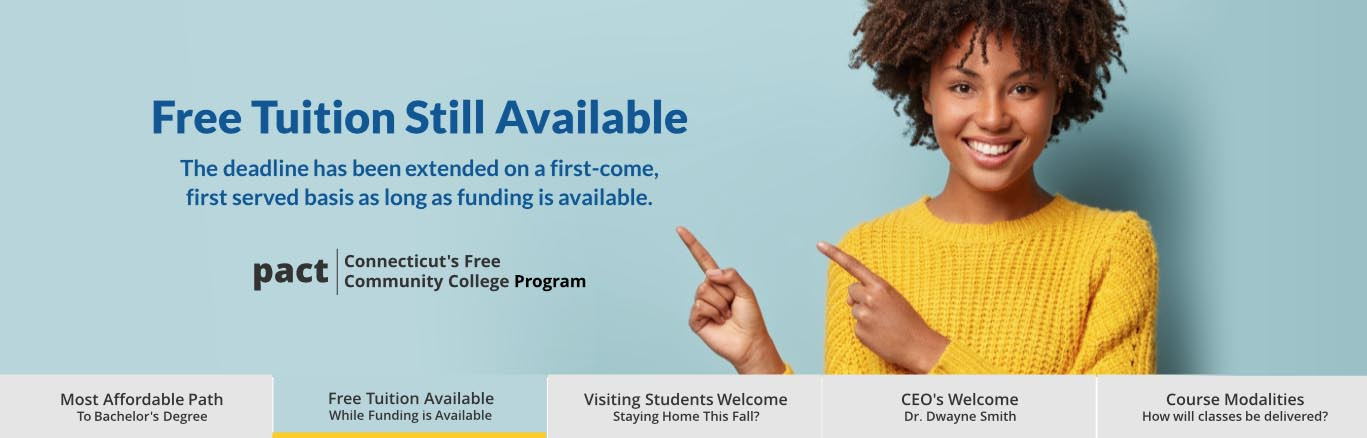 Change of plans this fall? Earn credits at HCC, then transfer. Click For info.